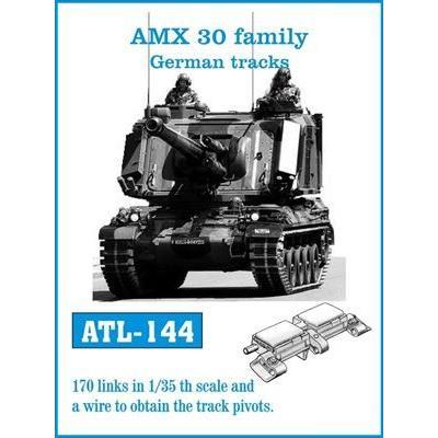 フリウルモデル ATL144 1/35 AMX30系列 ディール社 234型用キャタピラ メタル 可動 rainbowten