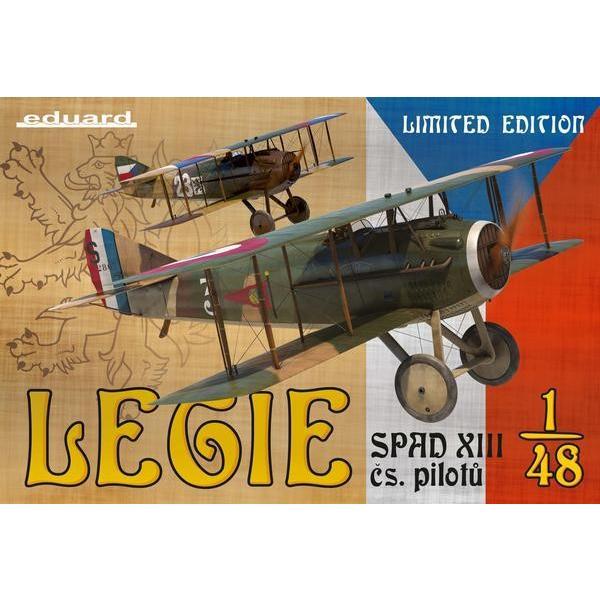 エデュアルド 11123 1/48 リミテッドエディション スパーッド XIII LEGIE チェコスロバキアパイロット|rainbowten
