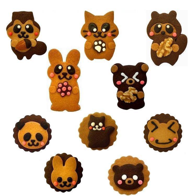 誕生日 プレゼント 子供 お菓子 動物 クッキー ビスケットのお試しセット rainette