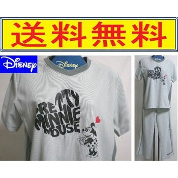 パジャマ レディース ディズニー ミニーマウス 半袖 婦人 ルームウエア 鹿の子風の生地   disney  Disney raitopj
