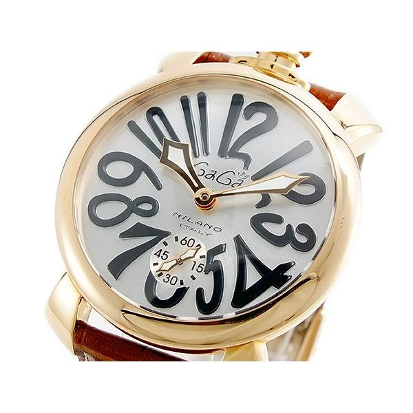 【予約販売】本 ガガミラノ GAGA MILANO MANUALE 手巻 メンズ 腕時計 5011-06S-BRW, toolbox世田谷(ガーデン用品) 7edc3338