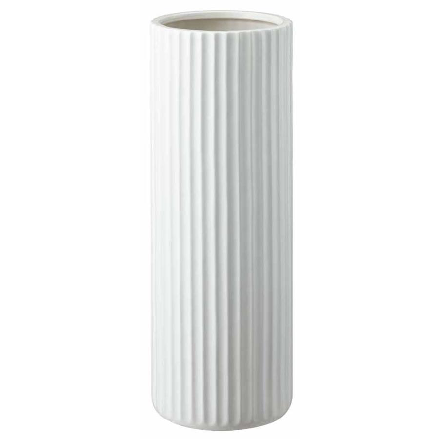 引出物 山崎実業 陶器傘立て スリム 最安値 ホワイト ストライプ 7910