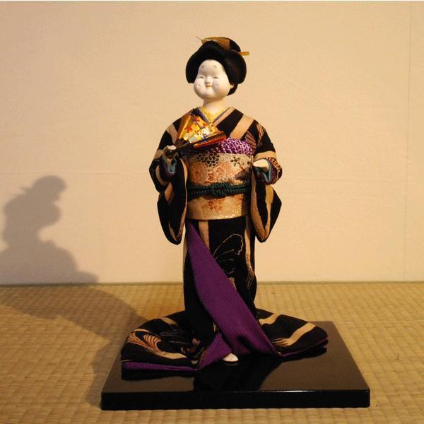 人形【送料無料!】京製創作人形 お福 【立姿】