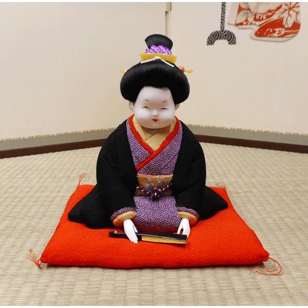 人形【送料無料!】京製木目込人形 お福
