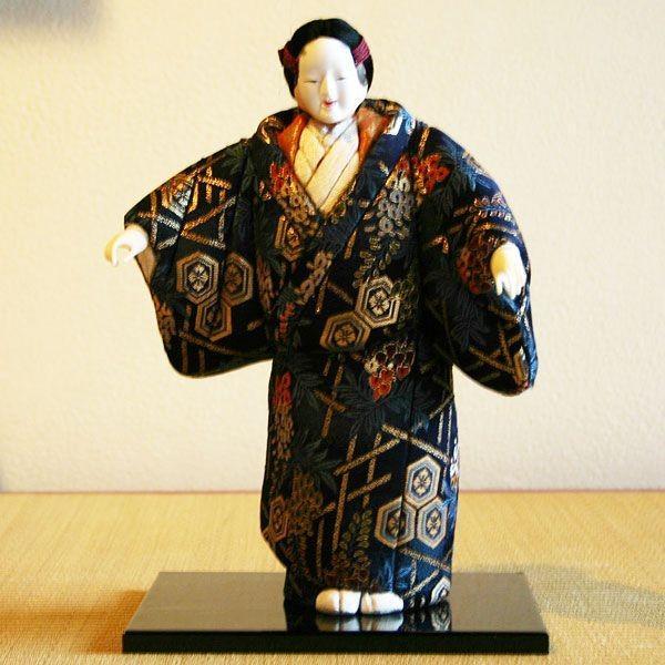 人形【送料無料!】京製木目込人形 能面