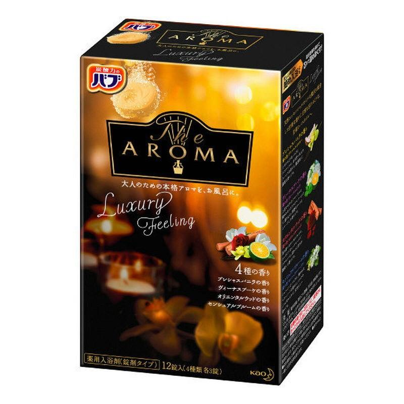 花王 バブ The Aroma Feeling 送料無料カード決済可能 お得なキャンペーンを実施中 Luxury 12錠入