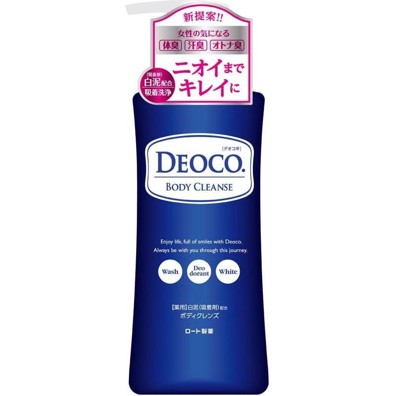 ロート製薬 DEOCO デオコ 薬用ボディクレンズ ポンプ 350ml