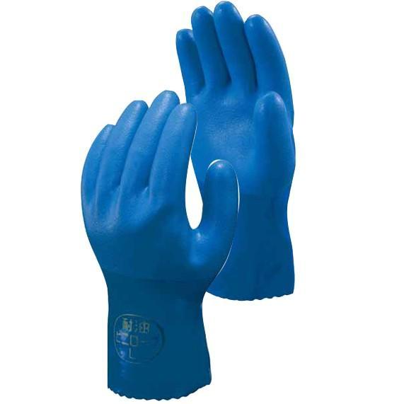 作業手袋 ショーワ 耐油 No.650 Mサイズ 120双入