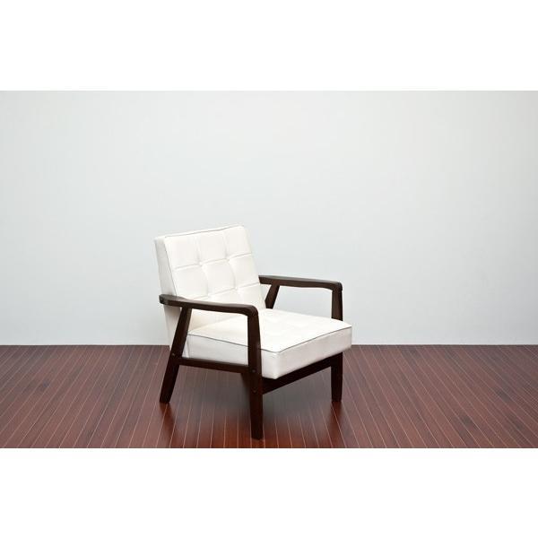 ソファ ソファー sofa パーソナルチェア パーソナルチェア 一人掛けソファ 1人掛けソファー PVCレザー 革 デザイン おしゃれ レトロ モダン ホワイト