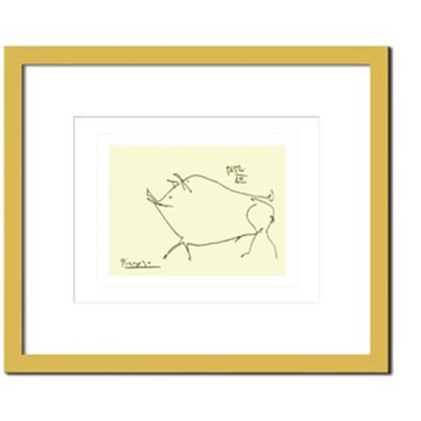 アートパネル ウォールデコ ウォールデコ おしゃれ 飾り 芸術 絵画 モダン 絵 Pablo, Picasso Petit cochon