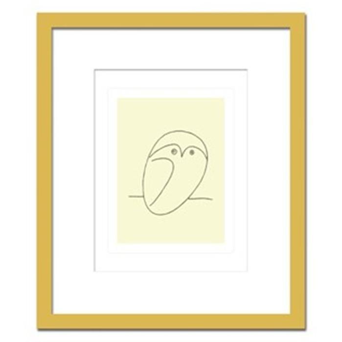 アートパネル ウォールデコ おしゃれ 飾り 芸術 絵画 モダン 絵 Pablo, Picasso Le hibou