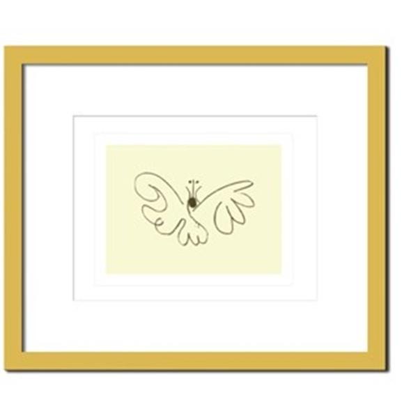 アートパネル ウォールデコ おしゃれ 飾り 芸術 芸術 絵画 モダン 絵 Pablo, Picasso Le papillon