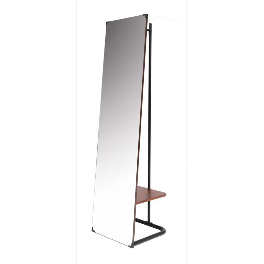 鏡 ミラー インテリアミラー スタンドミラー 姿見 ウォールミラー 壁掛け鏡 ハンガーラック ルームミラー 幅35cm 高160cm|rakusouya|02