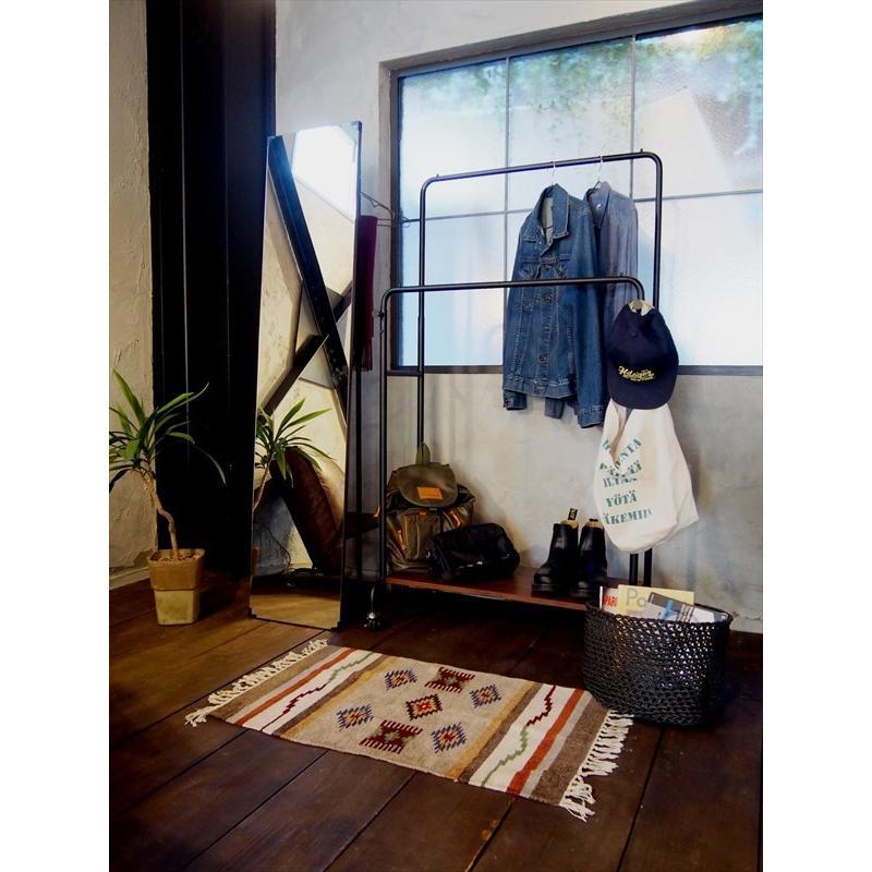 鏡 ミラー インテリアミラー スタンドミラー 姿見 ウォールミラー 壁掛け鏡 ハンガーラック ルームミラー 幅35cm 高160cm|rakusouya|18