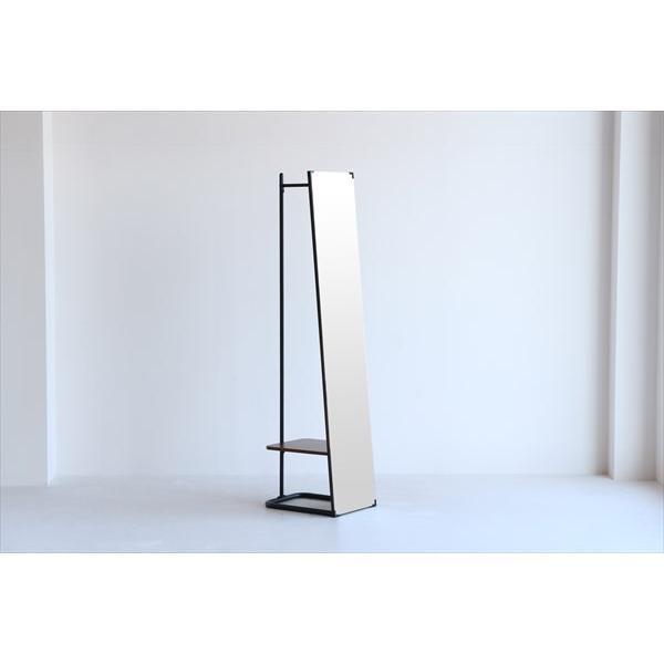鏡 ミラー インテリアミラー スタンドミラー 姿見 ウォールミラー 壁掛け鏡 ハンガーラック ルームミラー 幅35cm 高160cm|rakusouya|05