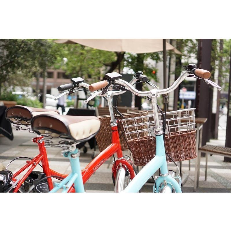 【5/15~19 倍々ストア P5倍】【ピルエットS 20インチ】電動自転車 子供乗せ おしゃれ 送料無料 組立完成車【購入後の安心サポート洛スククラブ】|rakusuku|12