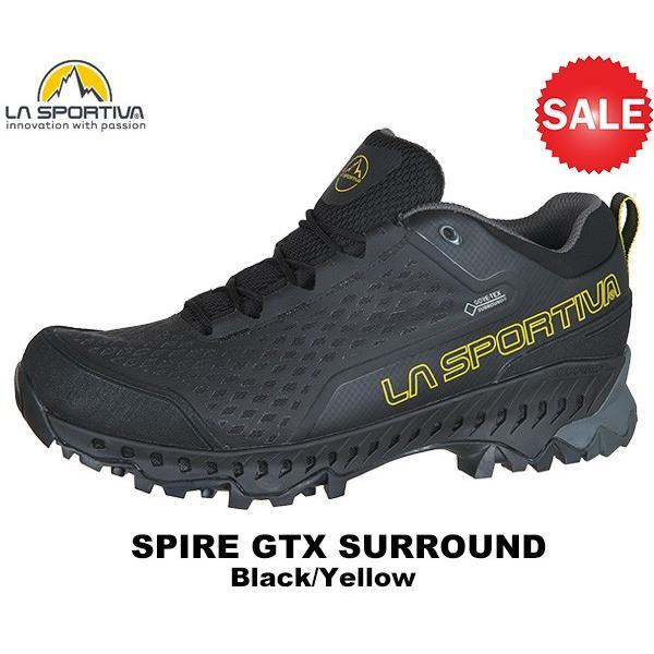 SPORTIVA(スポルティバ) Spire GTX Surround (スパイアGTXサラウンド) 24B 黒/黄