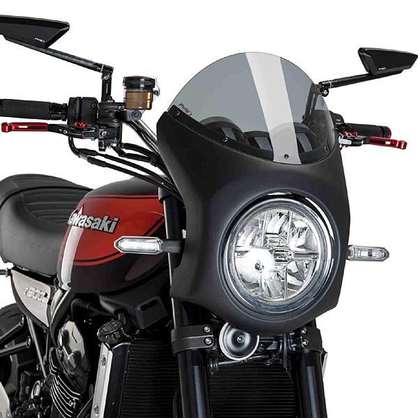 代引き人気 Puig 9595H RETRO FAIRING [SMOKE] Kawasaki Z900RS (18-19) プーチ スクリーン カウル, 高柳町 b24b22d0