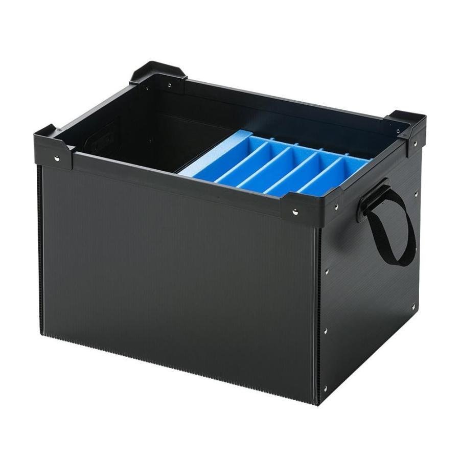 基本送料499円!サンワサプライ プラダン製タブレット・ノートパソコン収納ケース(6台用) プラダン製タブレット・ノートパソコン収納ケース(6台用) PD-BOX3BK