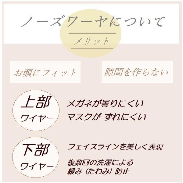 【化粧移りが目立ちにくい】日本製オーガニックコットン100% /プリーツ布マスク/ノーズワイヤー※選択可/ベージュ|ramirami|06