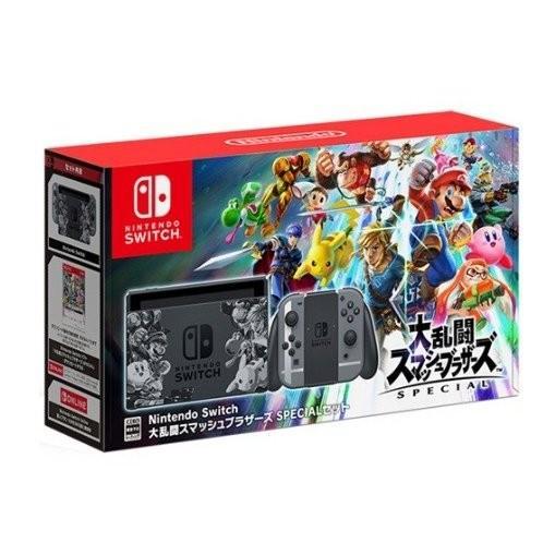 【新品】Nintendo Switch スイッチ本体 大乱闘スマッシュブラザーズ SPECIALセット|ramkins