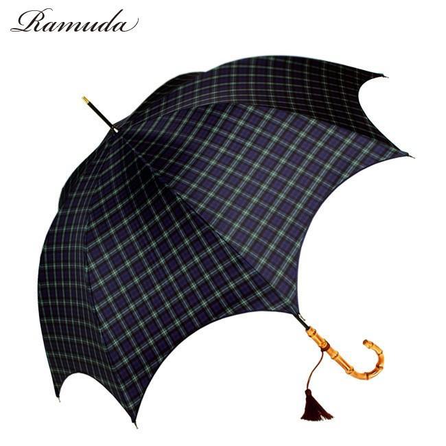 ネット限定販売60×8ハイレグカットタータンチェック婦人洋傘【送料無料】【1192016n】|ramuda
