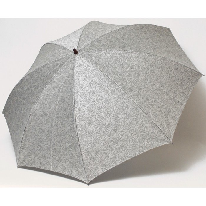 【送料無料】 晴雨兼用2段折り畳み傘58×8伊勢型紙渦 UV遮蔽率90%以上 折りたたみ傘りたたみ/雨具/黒/メンズ/レディース ギフト|ramuda|04