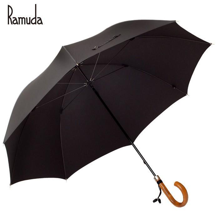 【送料無料】長傘 大きい傘 紳士傘 日本製 Ramuda【ギフト プレゼント】傘 雨具 レイングッズ かさ カサ 携帯 メンズ レディース 男女兼用 無地 父の日 ギフト|ramuda