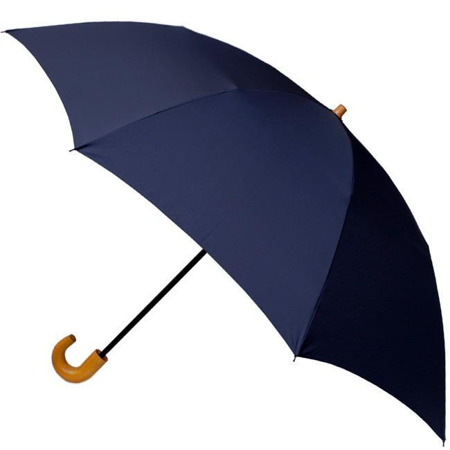 【送料無料】 2段折り畳み58×8タフレックス無地(ネイビー)【313101】折りたたみ傘|ramuda|03