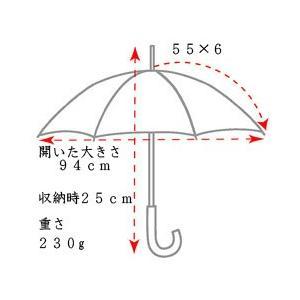 【送料無料】RAMUDA 55×6イタリー小紋ザイテルミニフラット 傘/携帯/メンズ/レディース/男女兼用/黒/父の日 ギフト|ramuda|06