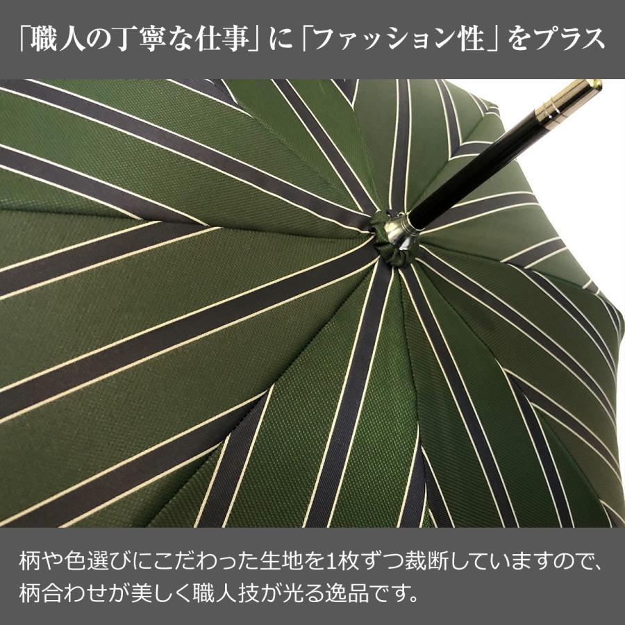 Ramuda 長傘 メンズ 紳士 日本製 甲州織 日本製生地 UVカット 90%以上 修理 保証 uv 大きい ギフト プレゼント 名入れ ネームプレート|ramuda|05