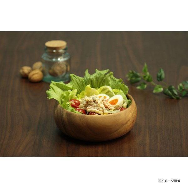 木製食器 トレイ アカシア ラウンドボウルXL 30144 キッチン雑貨 食卓 食器 お洒落 おしゃれ|rankup|03