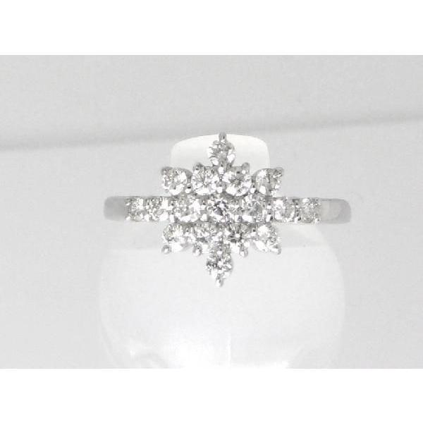 使い勝手の良い ダイヤモンド リング PT900 プラチナ ダイヤモンド 結晶 指輪 リング 0.5ct, サトショウチョウ 9e9cbb6a