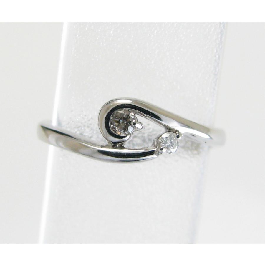 【格安SALEスタート】 K10WG ピンキーリング 小指の指輪 ダイヤモンド リング 0.03ct, 明治創業和歌山県紀州山椒専門店 97944ee9