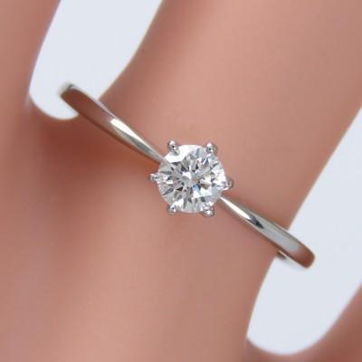 リング ダイヤモンド プラチナ900 婚約指輪 エンゲージリング 結婚指輪 0.2ct SIクラス