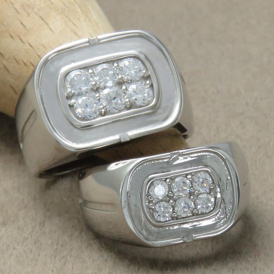 最低価格の ダイヤモンドリング ペアリング Pt900 プラチナ 印台 印台 ペアリング Pt900 お揃いの指輪, 衝撃特価:b92f7bd1 --- airmodconsu.dominiotemporario.com