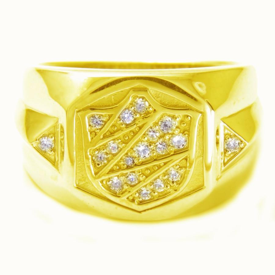 最も信頼できる メンズ指輪 ダイヤモンドリング K18 印台 K18 メンズ指輪 印台 メンズリング, アライチョウ:91f7c23f --- airmodconsu.dominiotemporario.com