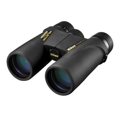 Nikon 8x42 Binocular Monarch 5 (Black/Green)【並行輸入品】