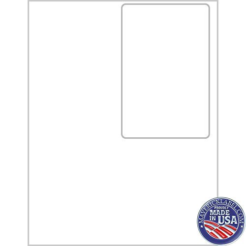 """Custom Mailing Integrated Labels FC-0002 Multichannel/Mail Order Manager Label Sheets · 1 up Labels, 8 1/2"""" x 11"""" Shipment Online Labels- Use as Per"""