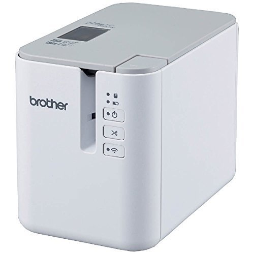 Brother Mobile PTP900W PT-P900W Powered Wireless Desktop Laminated Label Printer【並行輸入品】
