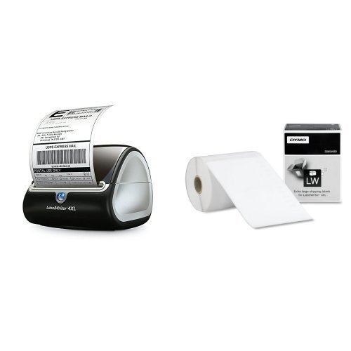 DYMO LabelWriter 4XL Thermal Label Printer (1755120) plus 5 bonus rolls【並行輸入品】