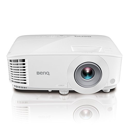 BenQ MH733 1080P Business Projector | 4000 Lumens for Lights On Enjoyment | 16,000:1 Contrast Ratio for Crisp Picture | Keystone for Flexible Setup【