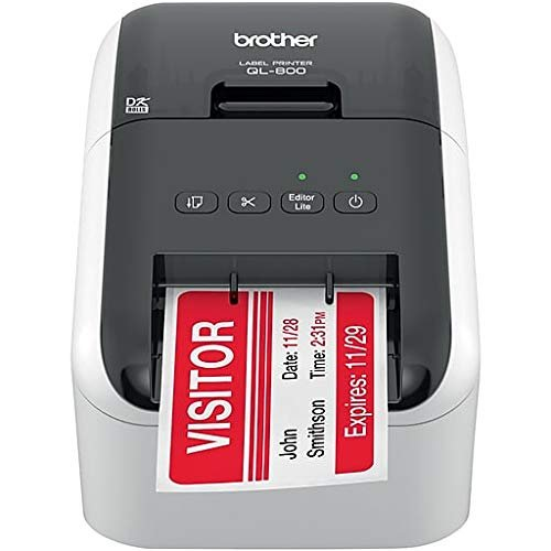Clover Label Printer for Station and Mini: Includes a roll of DK-1209 (1.1″ x 2.4″ or 29 mm x 62 mm) Labels【並行輸入品】