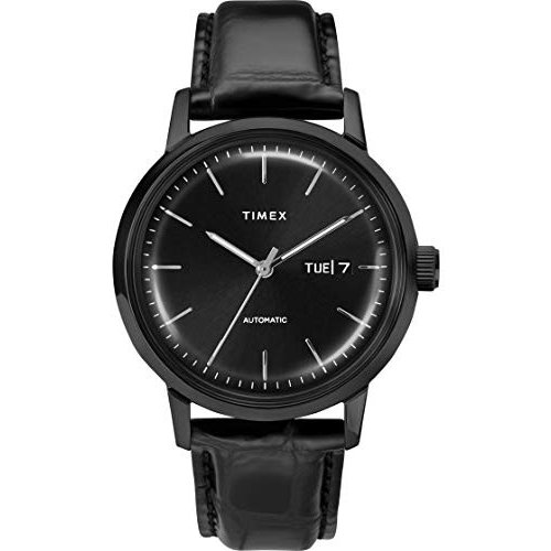 Timex 40 mm Marlin Auto Black/Black/Black One Size【並行輸入品】