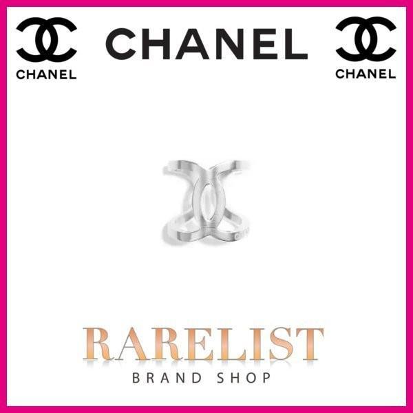 【日本産】 シャネル CHANEL リング 指輪 アクセサリー 新作 シルバー メタル ココマーク レディース, ニューヨークからの贈り物 414001ce