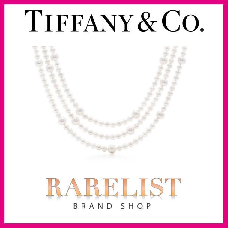 100%品質 ティファニー 5~8mm Tiffany & Co. ネックレス ロング & ロング パールネックレス アクセサリー シルバー パール 5~8mm, つり具のマルニシ:1461baa8 --- airmodconsu.dominiotemporario.com