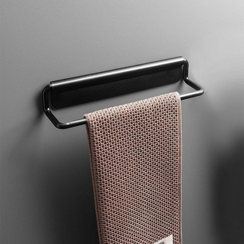 タオル掛け アイアン シンプル トイレ キチン 貼り付け アイアンタオル掛け ラクラク 女性にも優しい 壁掛け収納 カラフル|rashiniko|02