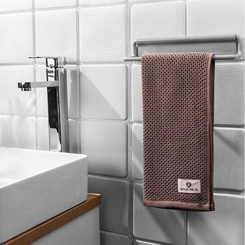 タオル掛け アイアン シンプル トイレ キチン 貼り付け アイアンタオル掛け ラクラク 女性にも優しい 壁掛け収納 カラフル|rashiniko|13