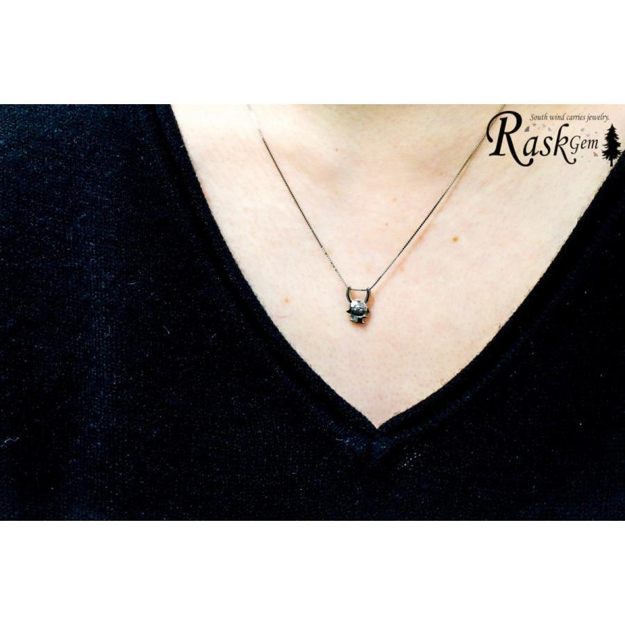 プラチナ ひこにゃんネックレス PT 【ひこにゃん公式】 rask-gem 05