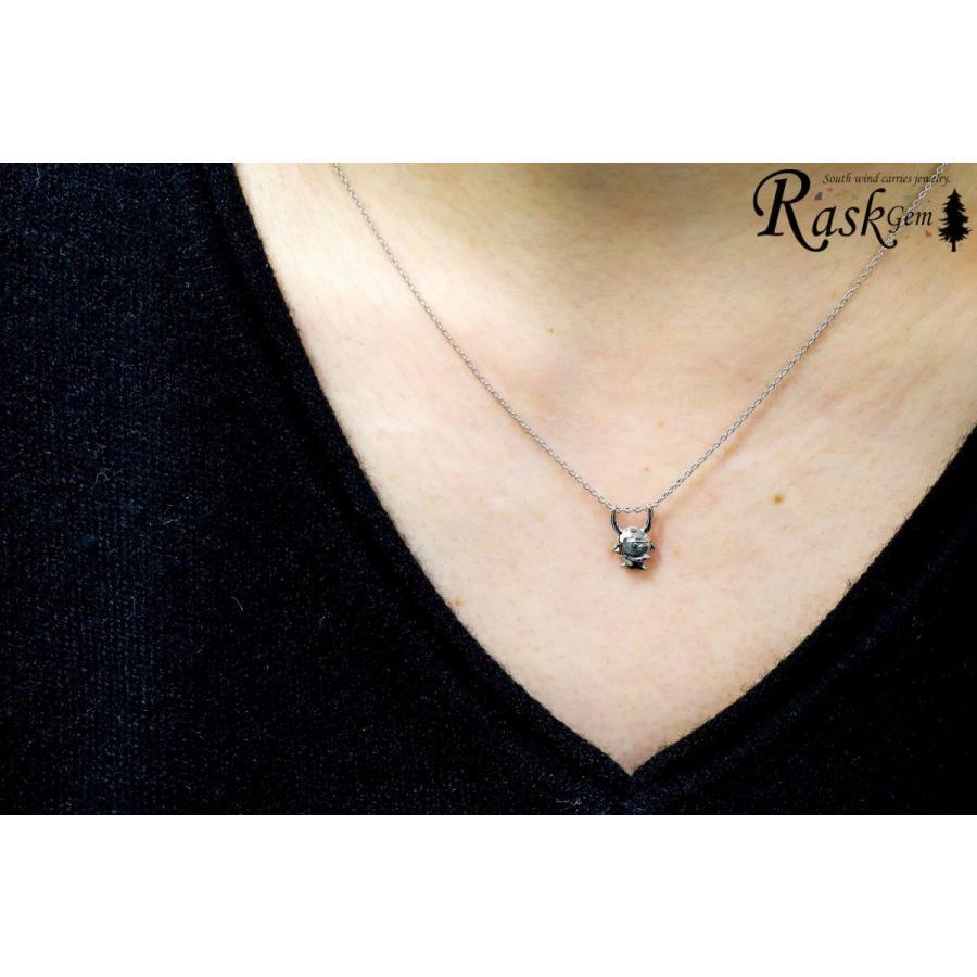 シルバー ひこにゃんネックレス silver 【ひこにゃん公式】|rask-gem|05